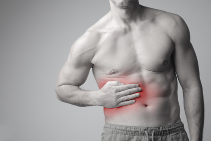 Muskelfaserriss Bauch Husten