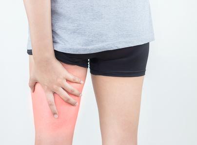 Muskelverhärtung im Oberschenkel - Ursachen, Behandlung